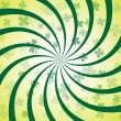 Royalty-Free Stock Vector Image: Clover Spiral