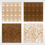 Coffee Patterns — Vetor de Stock  #23147500