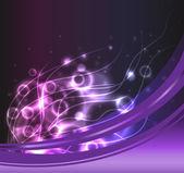 Purple Plasma Background — Stock Vector