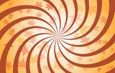 Autumn Spiral — Stock Vector