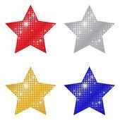 Estrelas cintilantes — Vetorial Stock