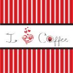 I love Coffee — Stock Vector #9448719