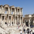 Celsus Library in Ephesus Turkey — Stock Photo
