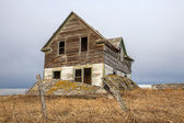 Haunted old house — Stock Photo