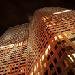 Stock Photo: Modern highrise at night