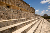 Governors palace in Uxmal — Stock Photo