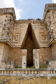 Mayan architectural detail — Stock Photo