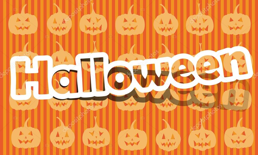 Vector halloween; realistic cut, takes the background color — Stock Vector #12525510