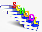 Book and school — Stock Photo