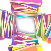 Stacks of books — Stock Photo