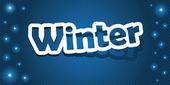 Winter — Stock Vector