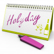 Stock Photo: Holyday