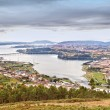 Estuary Ferrol in Spain - Stock Photo