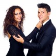 Young Business Loving Couple - 