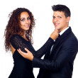 Stock Photo: Young Business Loving Couple