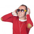 Royalty-Free Stock Photo: Sympathetic man with headphone