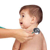 Medical Examination to a Beautiful baby — Stock Photo