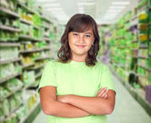 Adorable preteen girl — Stock Photo
