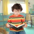 Stock Photo: Applied child studying