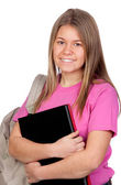 Teenager student girl — Stock Photo