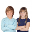 Couple of children — Stock Photo