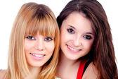 Duas irmãs adolescentes — Foto Stock