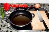Ingredients prepared for cooking — Stock Photo