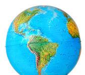 Closeup photo of a globe — Stock Photo