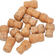 Stock Photo: Many corks from bottles