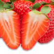 Stock Photo: Juicy strawberry