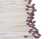Many matches close up — Stock Photo