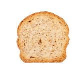 Slice of wholemeal toast — Stock Photo