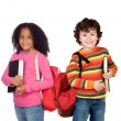 Couple of adorable students  — Stock Photo #46736499