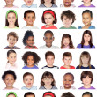 Photo collage of children — Stock Photo #47372743