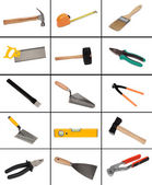 Collage of many different tools  — Stock Photo