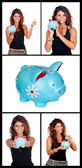 The domestic savings — Stock Photo