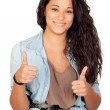 Attractive woman saying Ok — Stock Photo #9425858