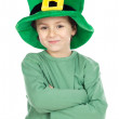 Child with green hat — Stock Photo #9433034