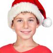 Adorable child with Santa Hat — Stock Photo #9501835