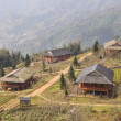 Stock Photo: Lo Lao Chai Village View