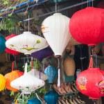 Lanterns in a Shop — Stock Photo