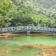 Bridge in Hang Mua Touristic Area — Stock Photo