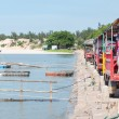 Row of Tuk-Tuk on Jetty — Stock Photo #27748631