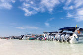 Speedboats at Poda Beach — Stock Photo