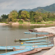 Boats on the Mekong River — Stock Photo #9419556