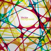 Kleurrijke abstracte achtergrond — Stockvector
