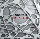 Abstrakt 3d Papier entwerfen — Stockvektor