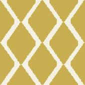 Geometric art deco pattern in mustard yellow colors — Stock Vector