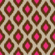 Modern ikat seamless pattern for web or home decor — Imagens vectoriais em stock