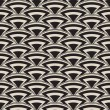 Retro seamless pattern in art deco style — Stock vektor